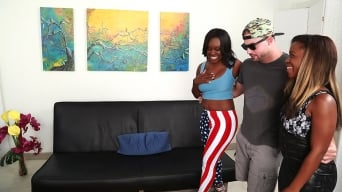 Aries Crush in 'American ass'
