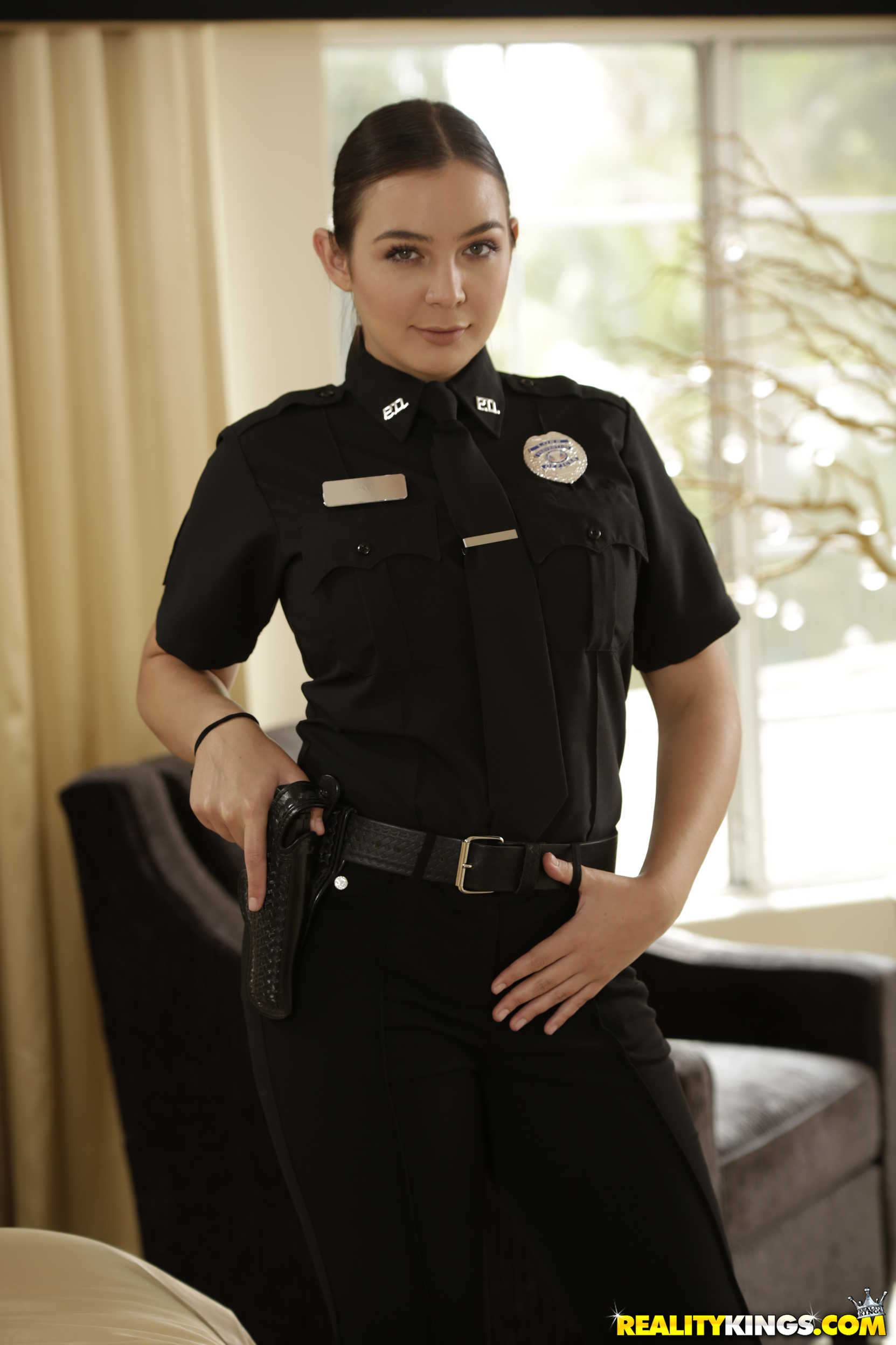 Reality Kings 'Two Cops In Heat' starring Blair Williams (Photo 1)