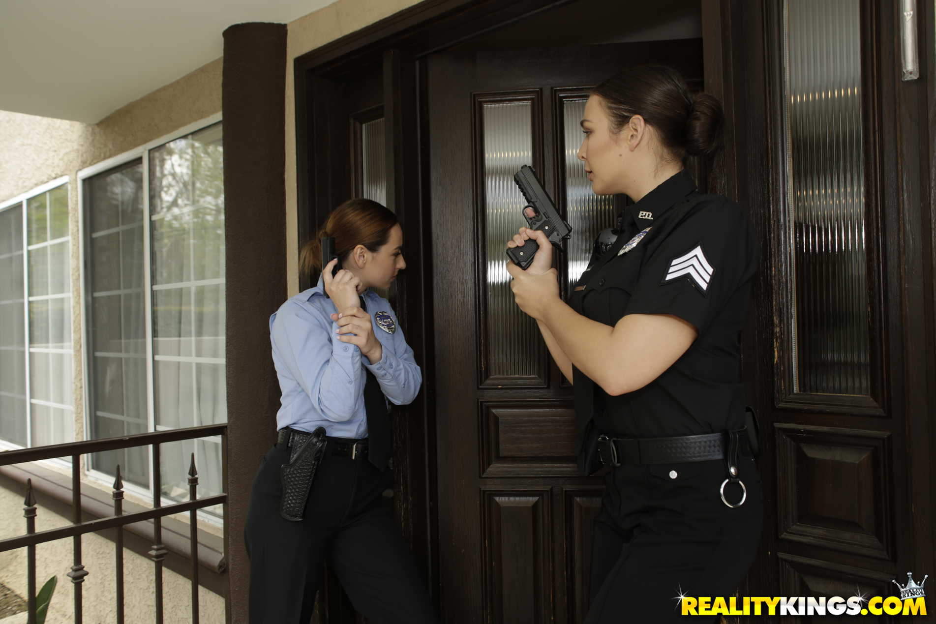Reality Kings 'Two Cops In Heat' starring Blair Williams (Photo 105)