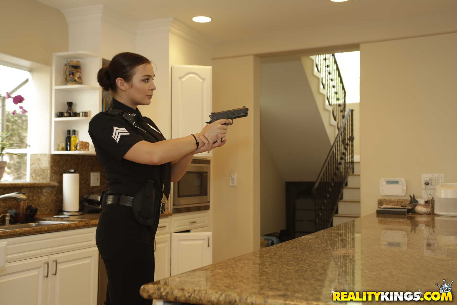 Reality Kings 'Two Cops In Heat' starring Blair Williams (Photo 120)