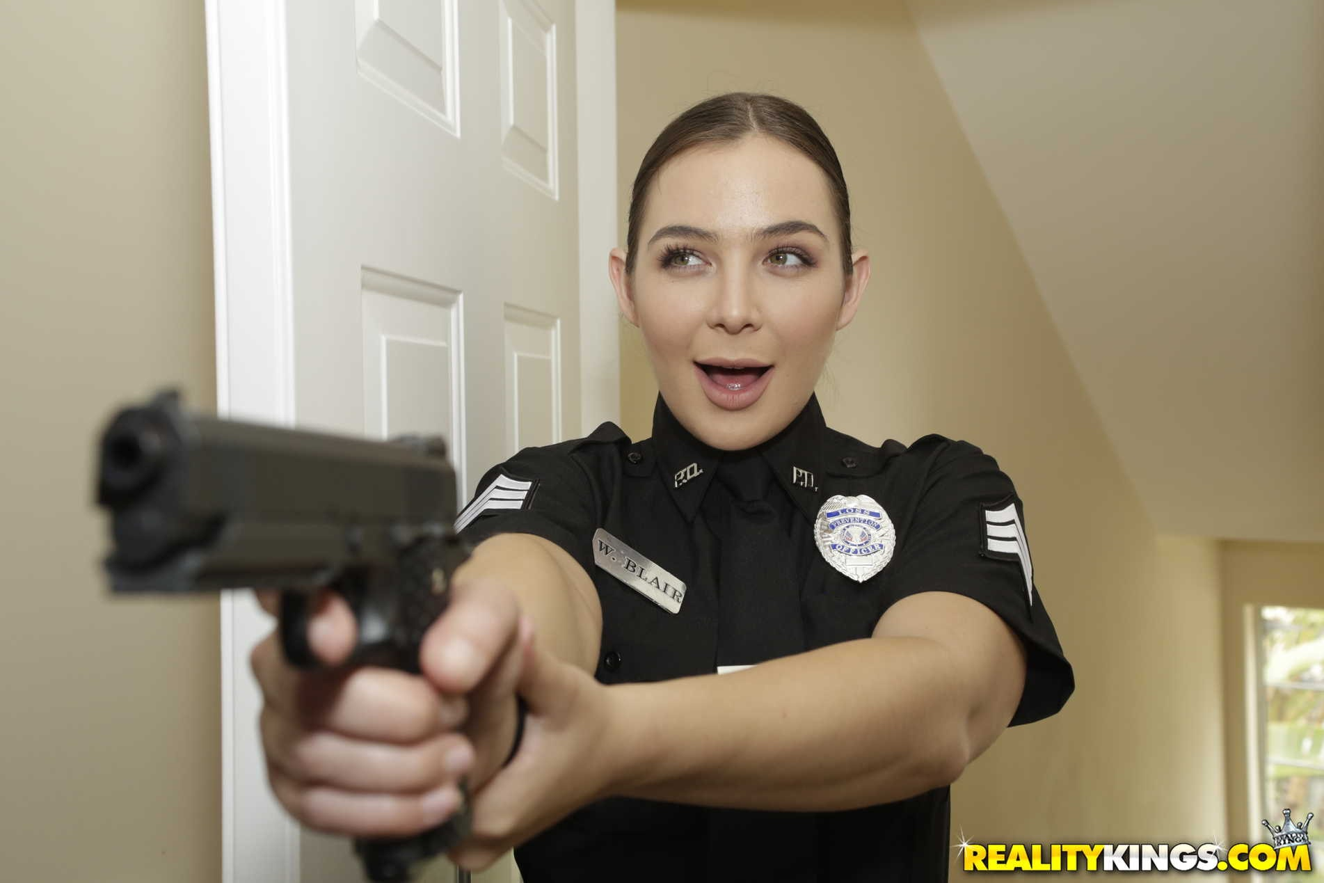 Reality Kings 'Two Cops In Heat' starring Blair Williams (Photo 135)