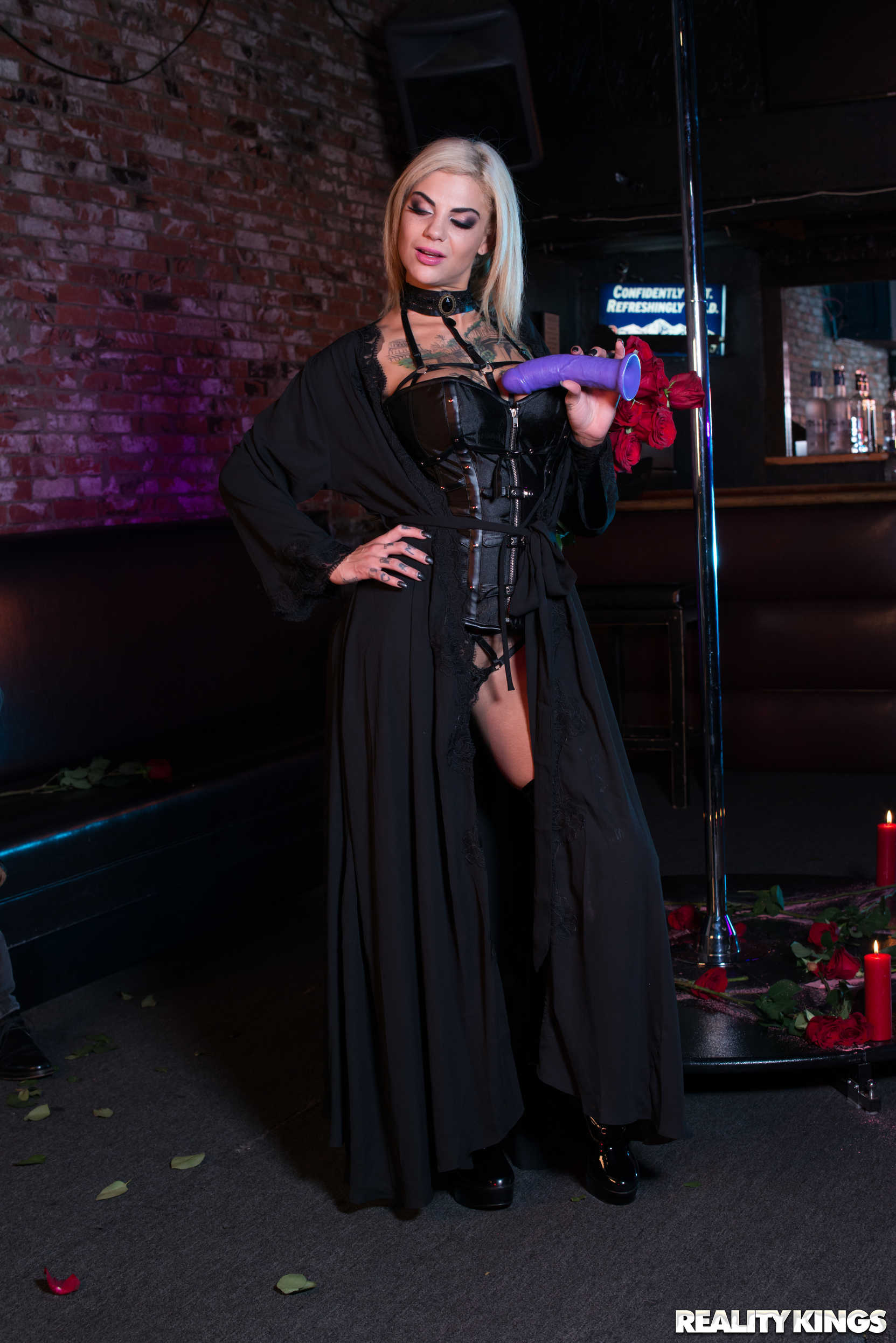 Reality Kings 'Pitch Black Pole Dancer' starring Bonnie Rotten (Photo 6)