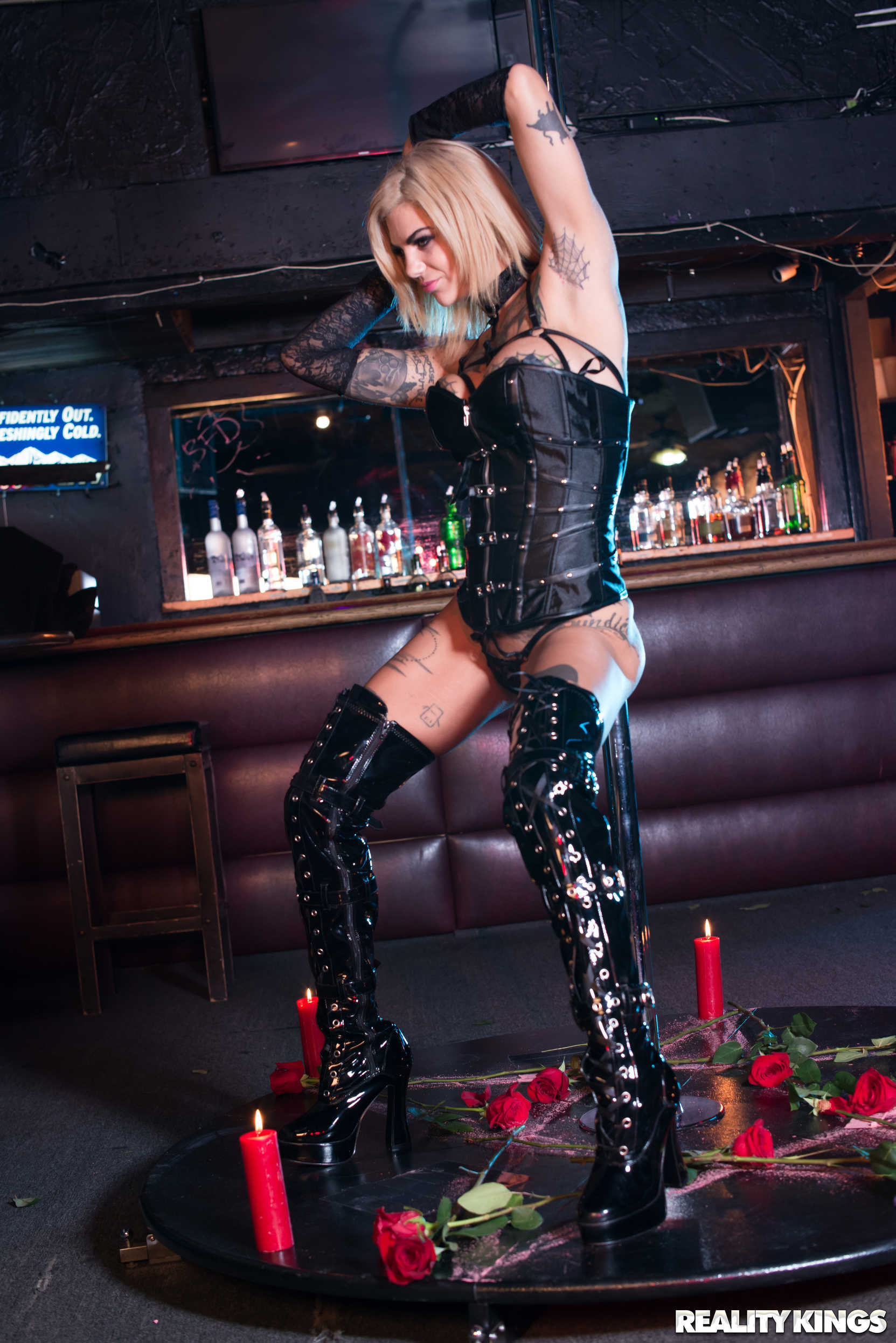 Reality Kings 'Pitch Black Pole Dancer' starring Bonnie Rotten (Photo 24)