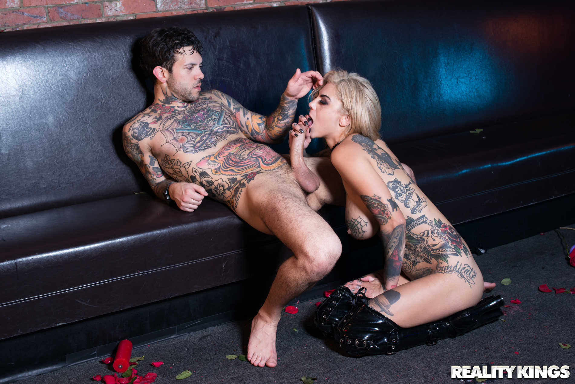 Reality Kings 'Pitch Black Pole Dancer' starring Bonnie Rotten (Photo 72)