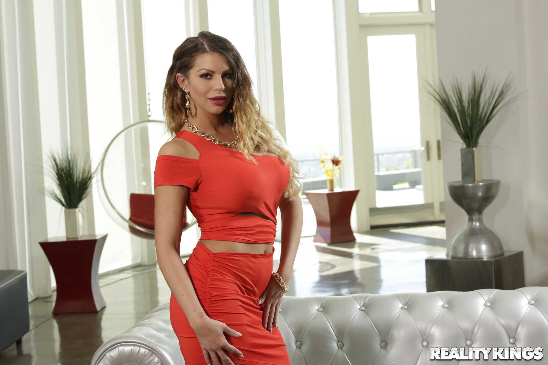 Reality Kings 'Graphic In Traffic' starring Brooklyn Chase (Photo 7)