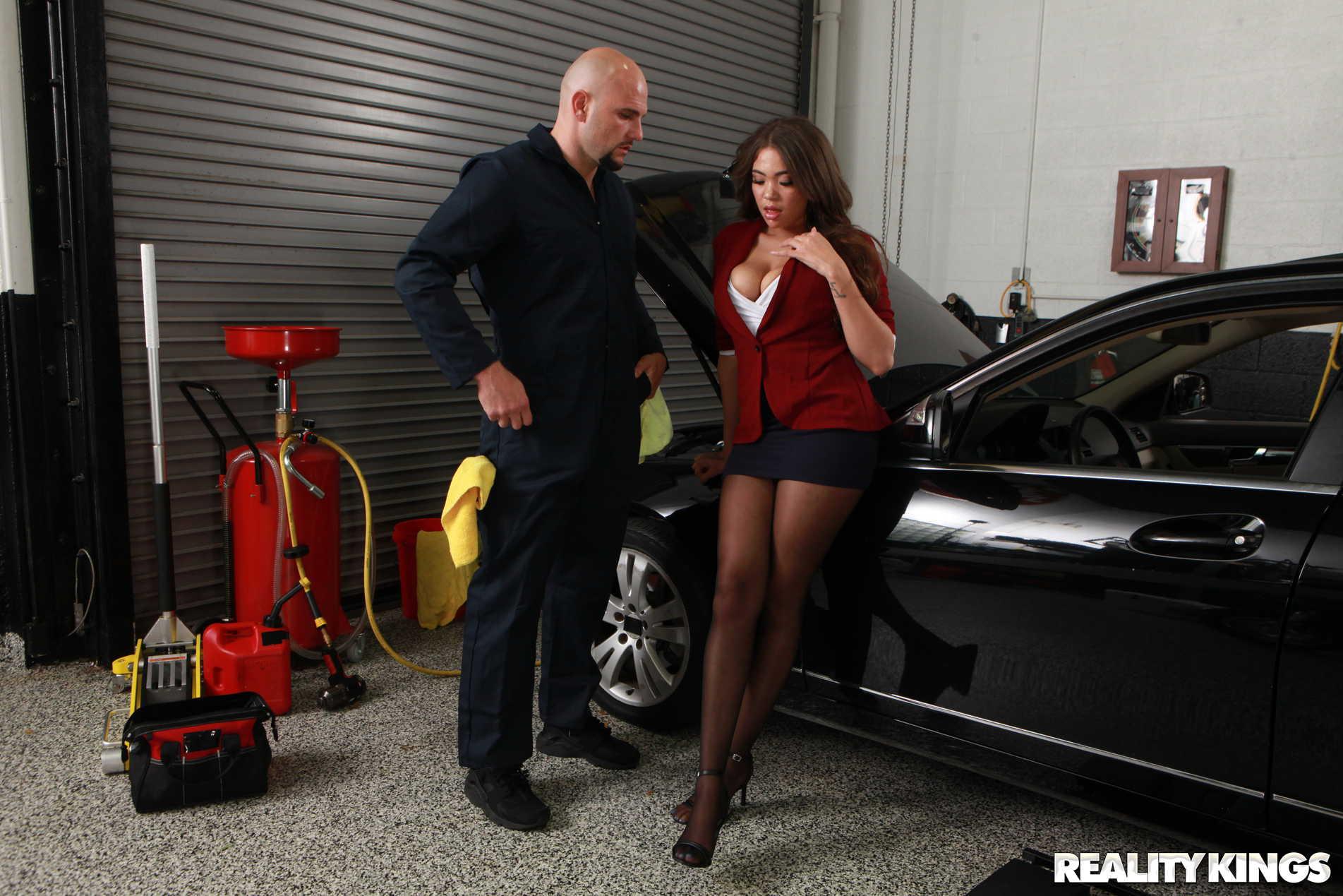 Reality Kings 'My Mechanic Fucked My Wife' starring Cassidy Banks (Photo 78)
