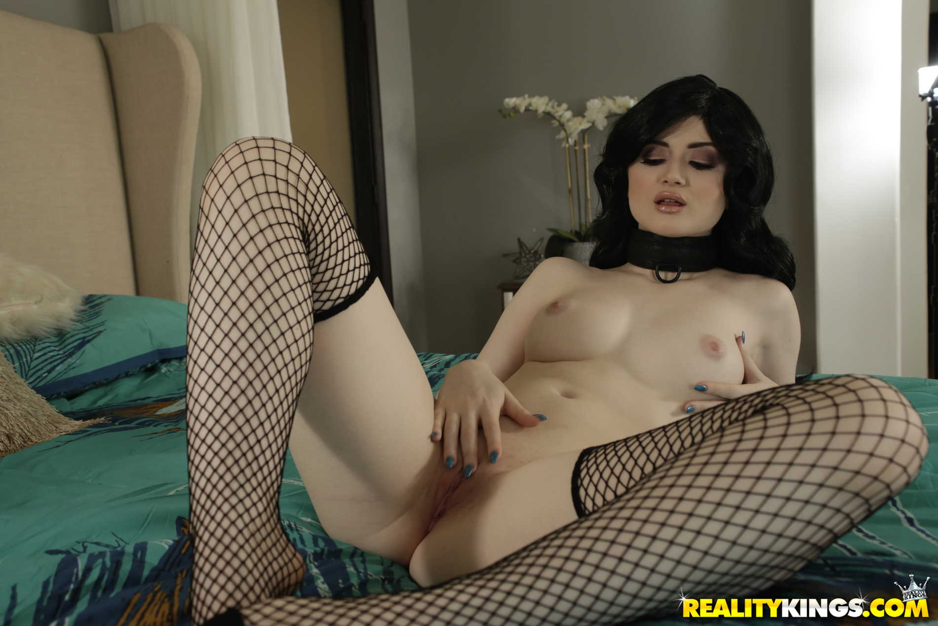 Reality Kings 'Fucked On Stream' starring Celestia Vega (Photo 65)
