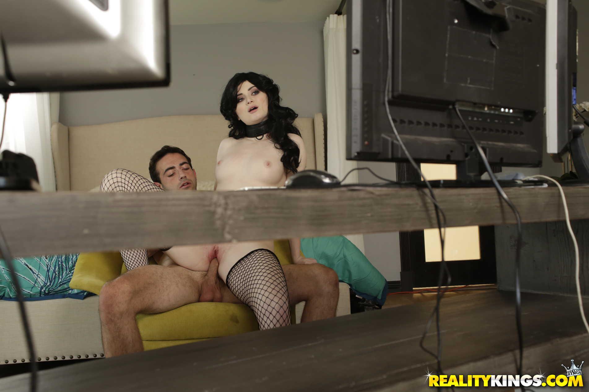 Reality Kings 'Fucked On Stream' starring Celestia Vega (Photo 169)