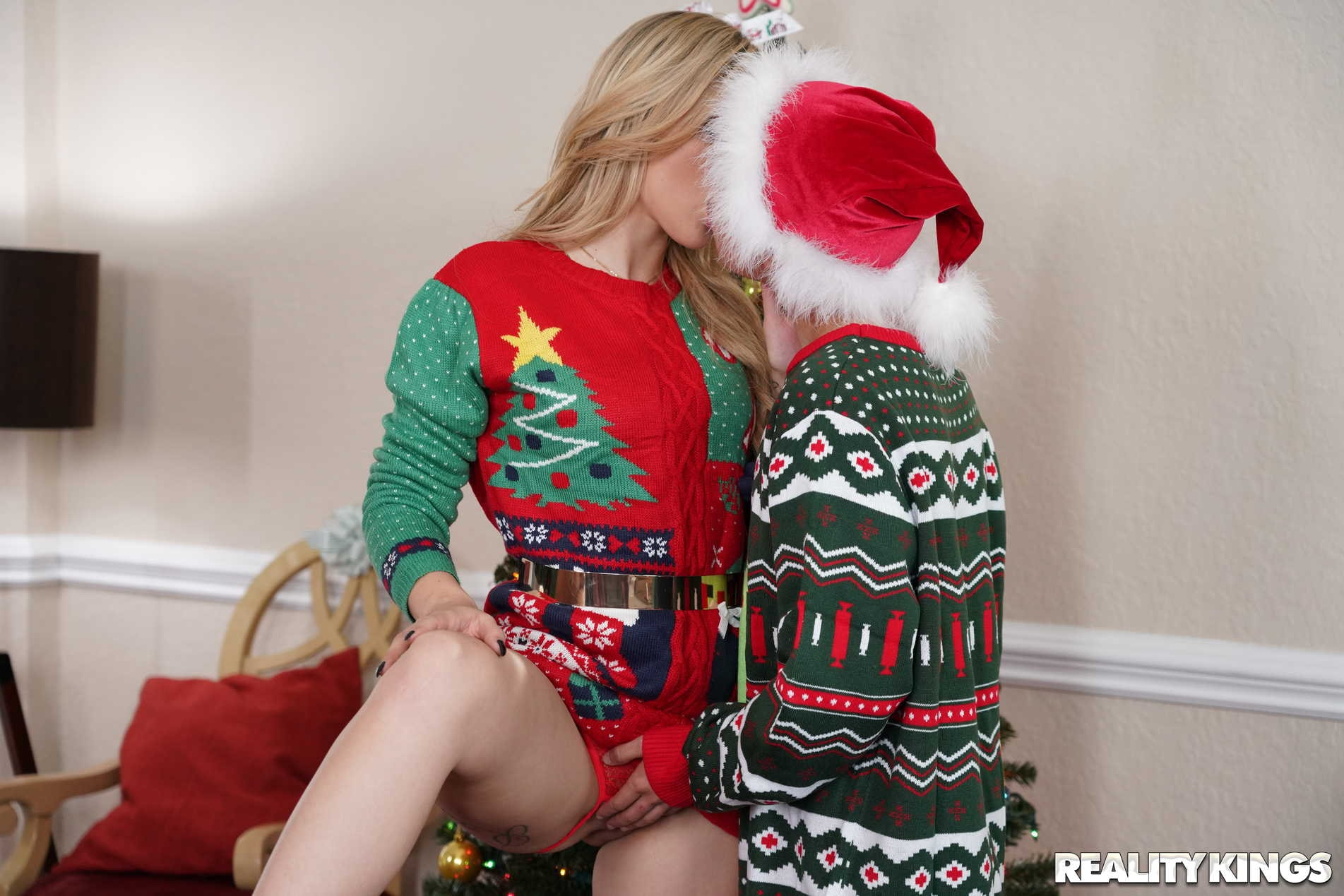 Reality Kings 'Keep The Xmas Lights Tied On' starring Cory Chase (Photo 90)