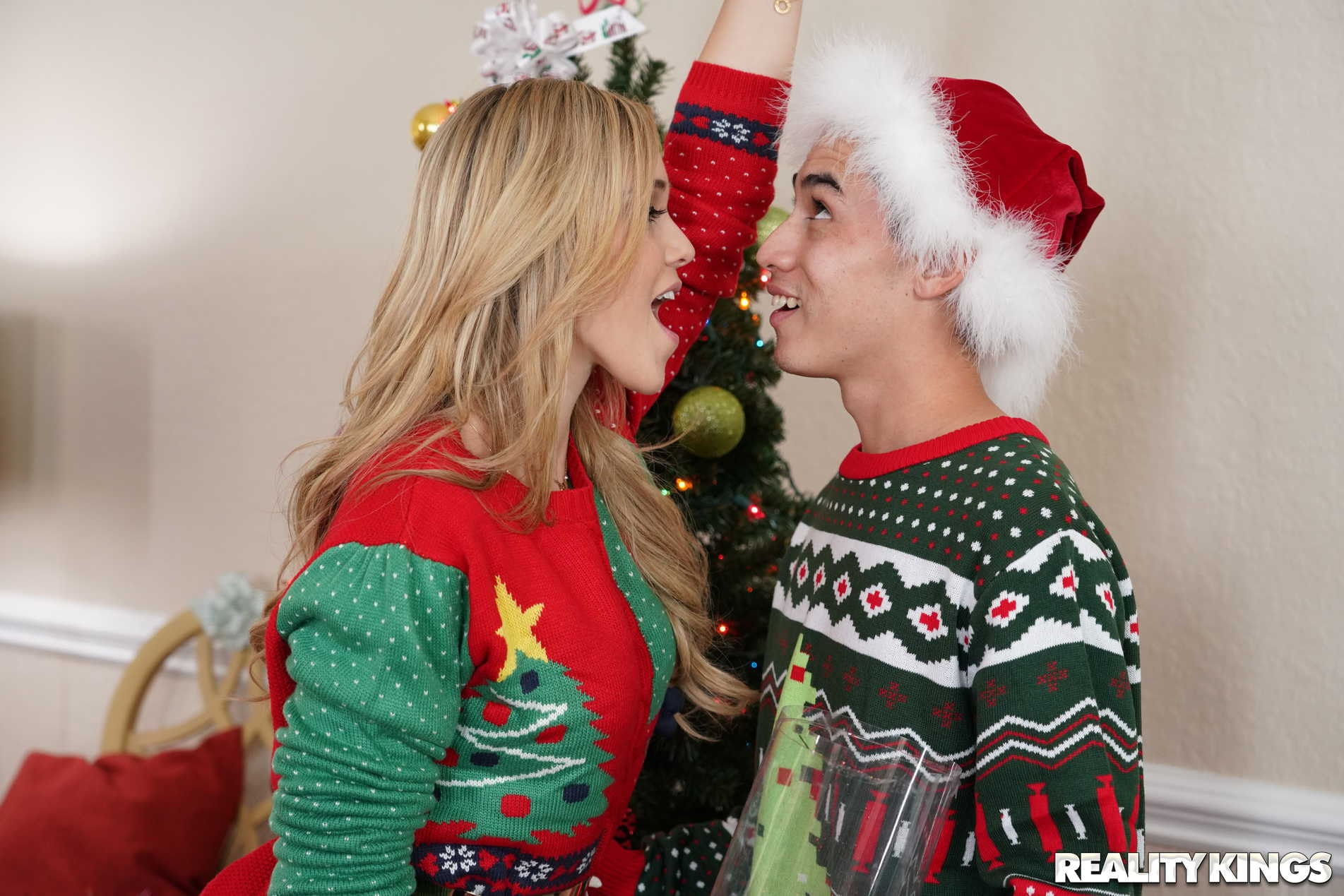 Reality Kings 'Keep The Xmas Lights Tied On' starring Cory Chase (Photo 105)