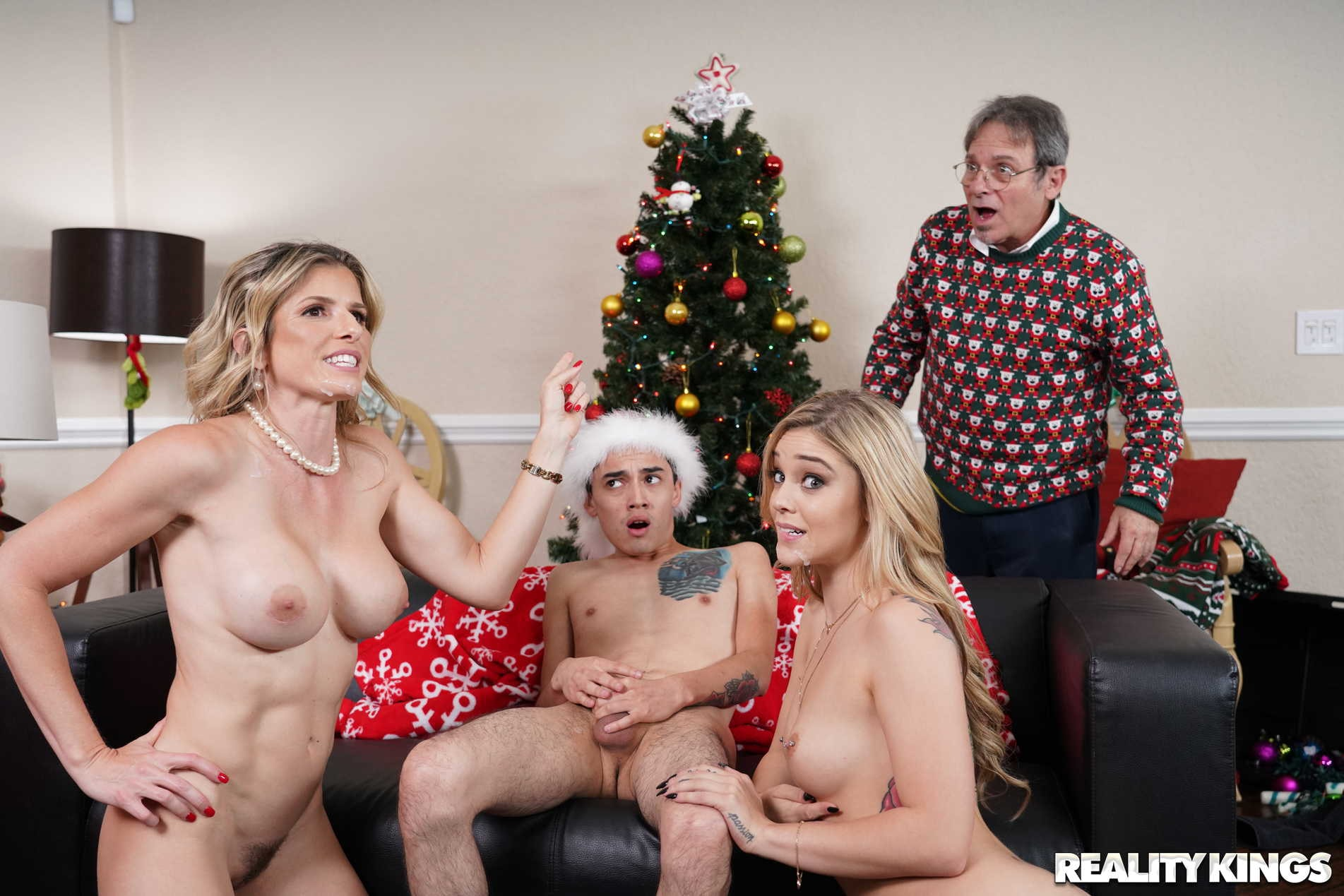 Reality Kings 'Keep The Xmas Lights Tied On' starring Cory Chase (Photo 240)