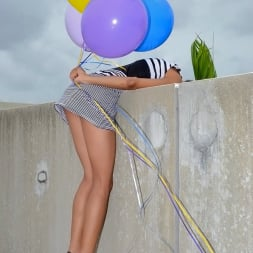 Isabella Gonzales in 'Reality Kings' Boobs and balloons (Thumbnail 1)