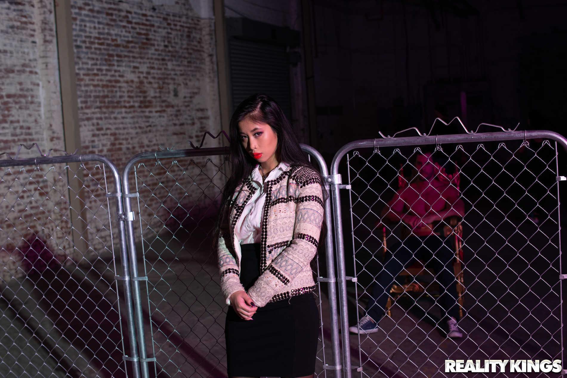 Reality Kings 'Chainlink Tease' starring Jade Kush (Photo 1)