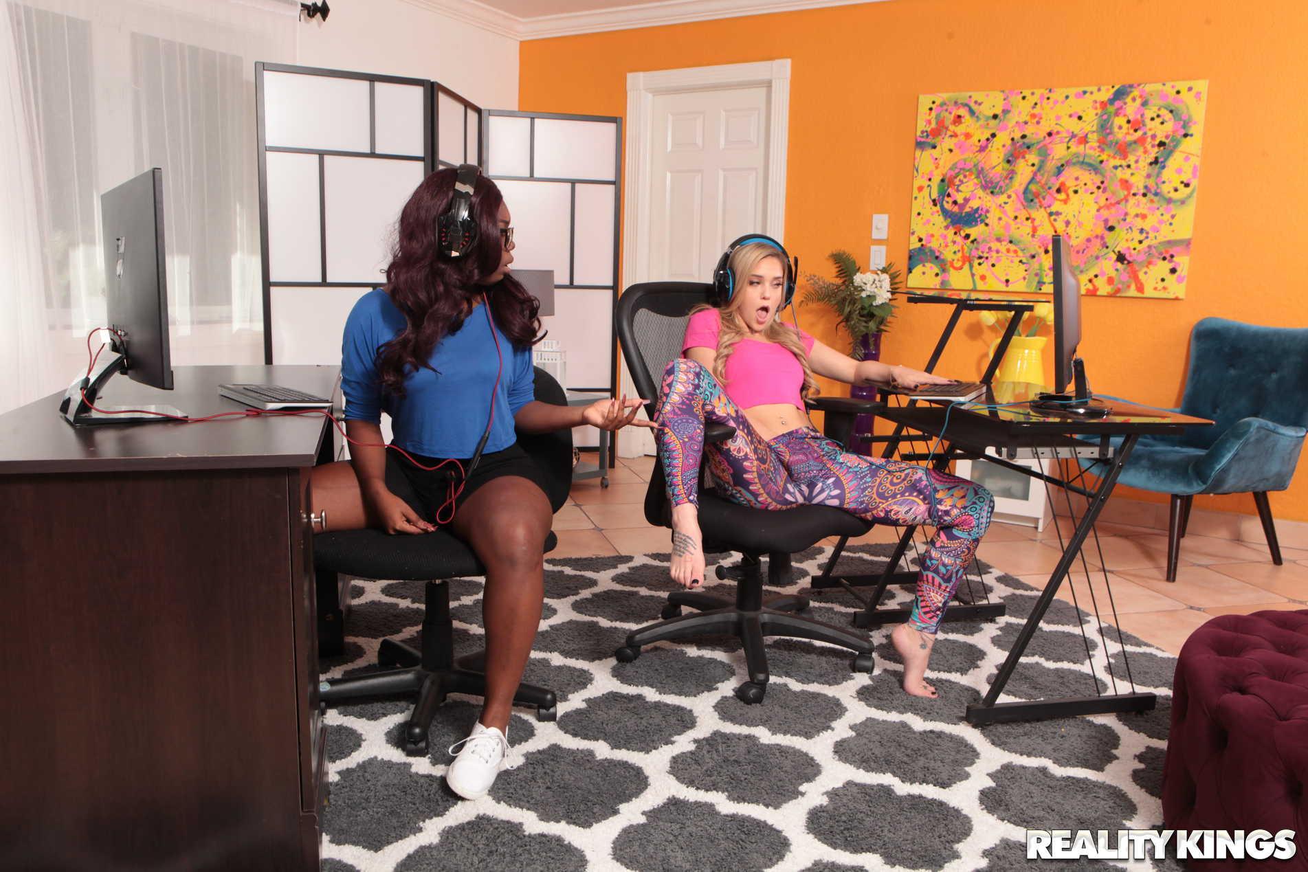 Reality Kings 'Gamer Girl Needs Dick' starring Kali Roses (Photo 84)