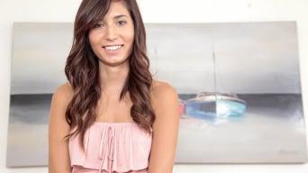 Kimberly Costa in 'Cumming on kim'