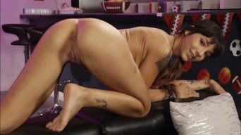 Kitty Carrera in 'Serving A Dad And His Daughter'