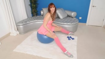 Lauren Phillips in 'Mouth to balls'