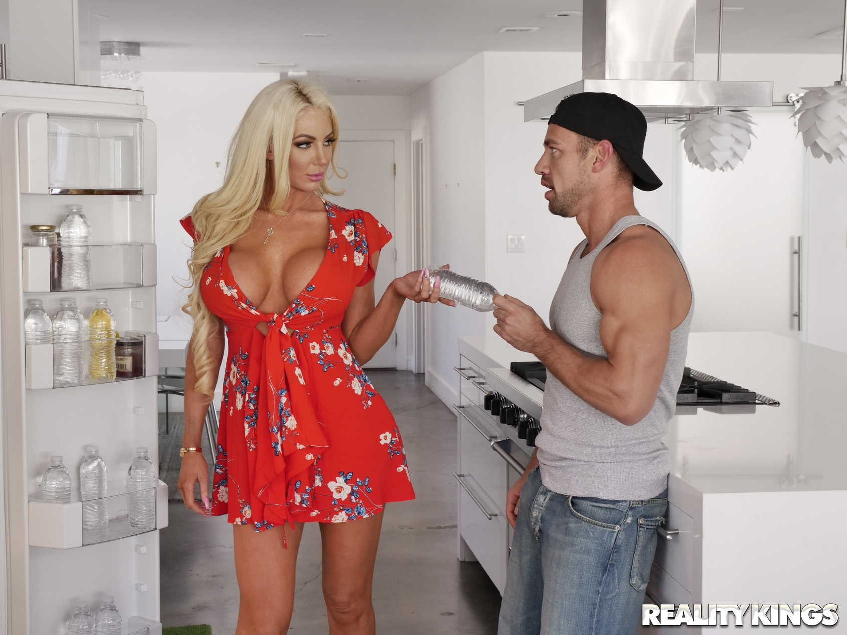 Reality Kings 'Kitchen Cockfidential' starring Nicolette Shea (Photo 72)