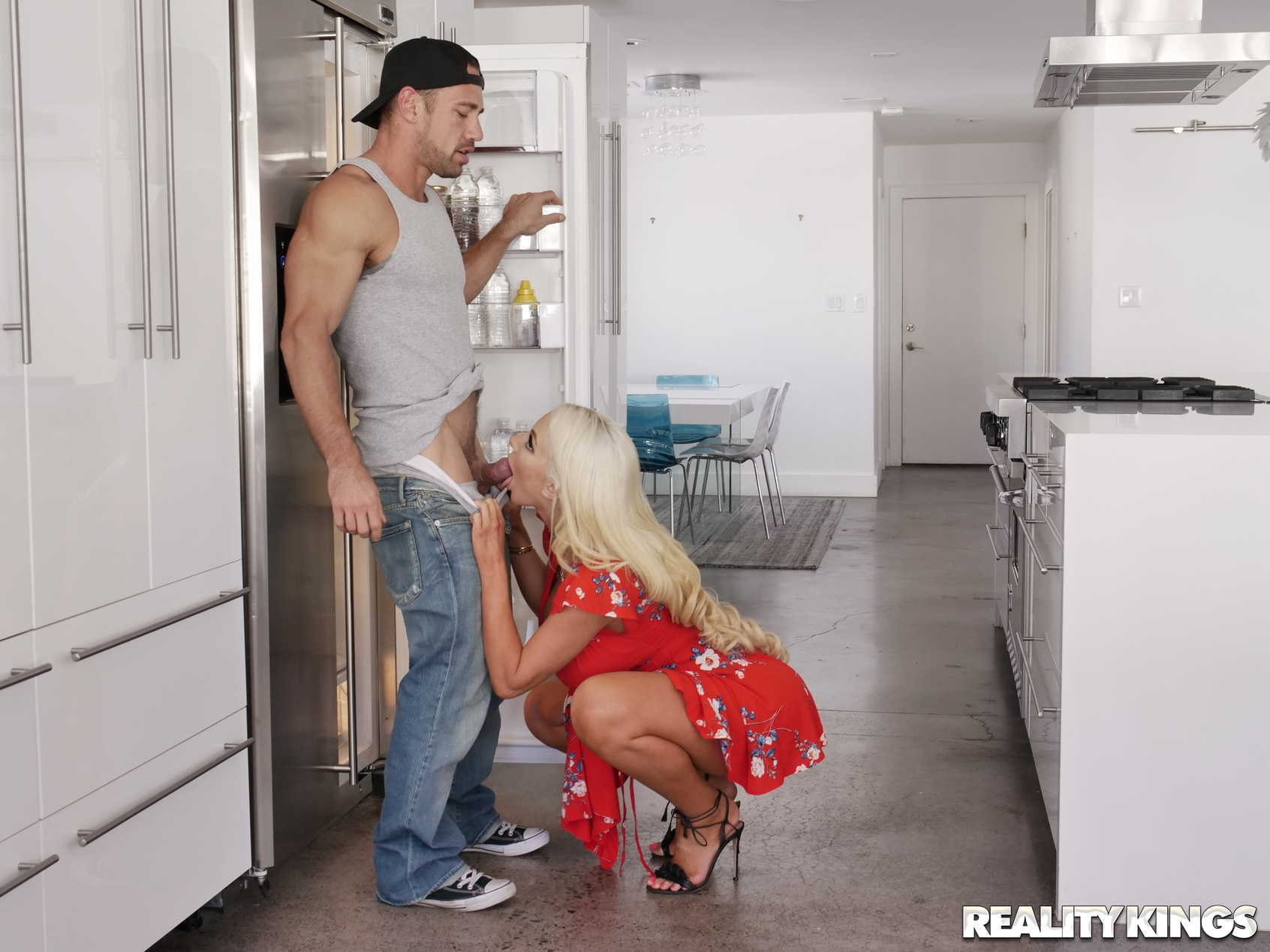 Reality Kings 'Kitchen Cockfidential' starring Nicolette Shea (Photo 80)