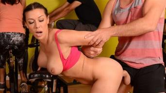 Rachel Starr in 'Sneaky Spinning'