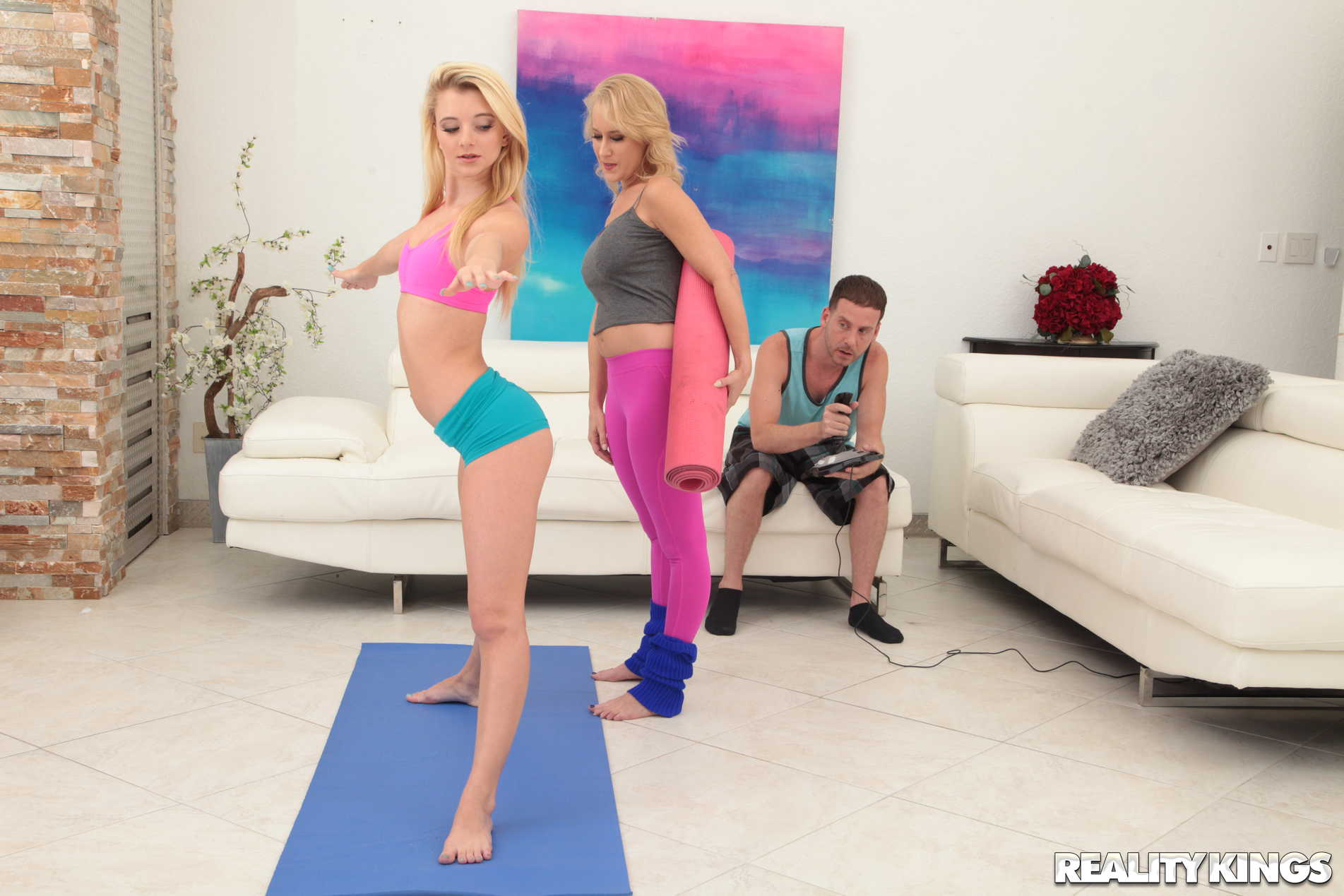 Reality Kings 'Stretching With Stepmom' starring Riley Star (Photo 77)